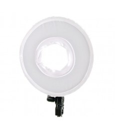 Bi-Color LED Ring Lamp Dimmable DVR-300DVC on 230V - Falcon Eyes