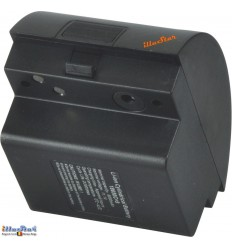 WF6BAT - Batterie 12V - 6 Ah - Li-ion extra pour flash de studio WF-400A /WF-600A ou Nflash or Satel Two