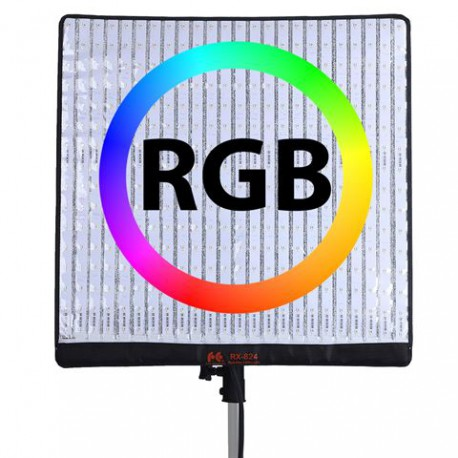 Falcon Eyes Flexibel RGB LED Panel RX-824-K1 63x63 cm