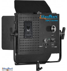 LEDP-1190-DMX - 75W Eclairage LED de studio Vidéo & Photo, 5400°K, 9000 lm, DMX-512, Support de batterie V-Mount, DC 12V~24V