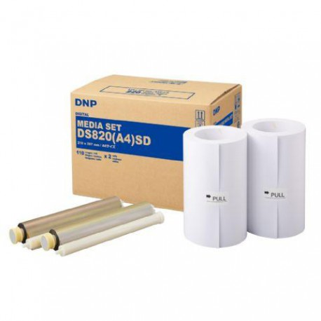 DNP Paper DMA4820 2 Rolls with 110 prints A4 for DS820