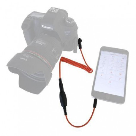 Miops Smartphone Shutter Release MD-C2 with C2 cable for Canon