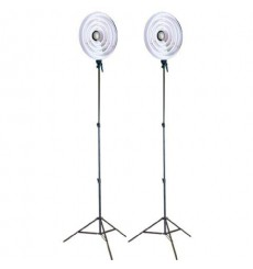 Falcon Eyes Ring Lamp Set RFL-3 with Light Stand