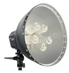 Falcon Eyes Lamp + Reflector 40cm LHD-5250F 5x28W