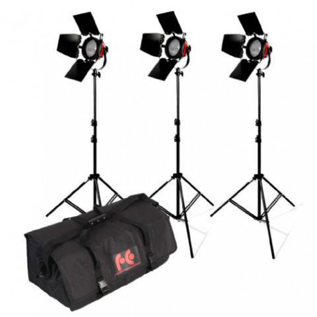 StudioKing Halogen Video Set TLR800-3 Dimmable