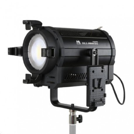 Bi-Color LED Spot Lamp Dimmable DLL-1600TDX on 230V or Battery - Falcon Eyes